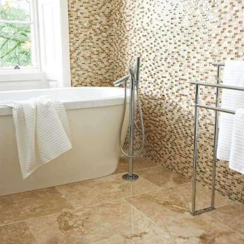 Mozaiek badkamertegels
