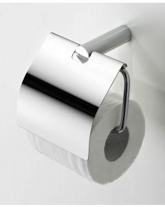 Ives toiletrolhouder met klep chroom