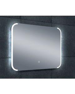 Bjel dimbare LED condensvrije spiegel 600x800