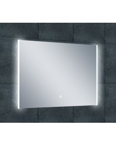 Puck duo-LED dimbare condensvrije spiegel 800x600