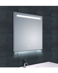 Aaf dimbare LED condensvrije spiegel 600x600