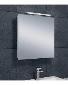Bice spiegelkast LED 600x600x140
