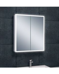 Quinn quatro-LED spiegelkast 700x600x130