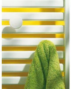 Ezra radiator badjasknop wit