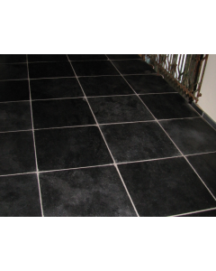 Harappa Stone Black 40x40x2cm