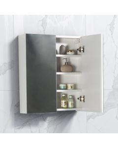 Spiegelkast Tieme in hoogglans wit 600x700x160mm