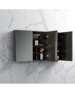 Spiegelkast Tieme in mat grijs 1200x700x160mm