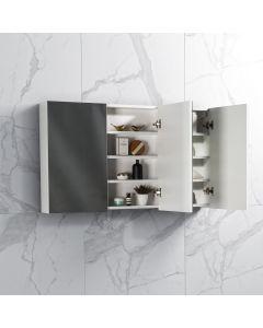 Spiegelkast Tieme in hoogglans wit 1200x700x160mm