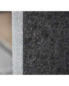 Keramische terrastegels Basaltina Olivia Black 60x60x2 cm gerectificeerd