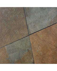 Keramische terrastegels Durban Slate Multicolor 60x60x2 cm gerectificeerd