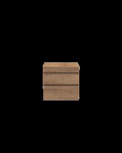 Badkamermeubel Finn 60x59x45cm Licht Eiken met Topblad