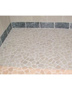 Mozaiek Riverstones white