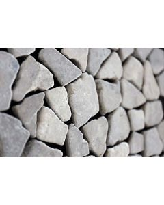 Mozaiek Riverstones light grey