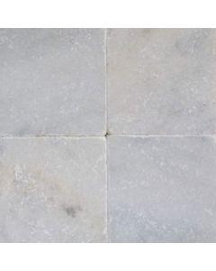 Witte marmer 20x20x1