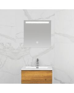 Mila condensvrije spiegel 600x600 met LED