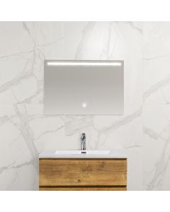 Mila condensvrije spiegel 800x600 met LED