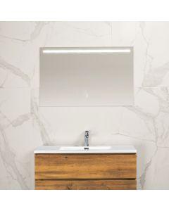 Mila condensvrije spiegel 1000x600 met LED