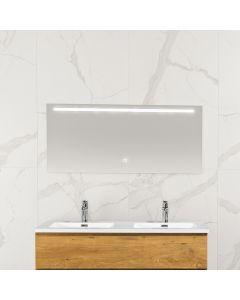 Mila condensvrije spiegel 1200x600 met LED