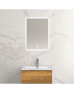 Noah condensvrije spiegel 500x700 met LED