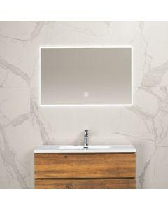 Noah condensvrije spiegel 1000x600 met LED