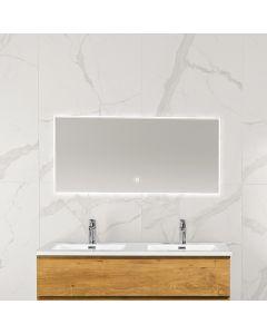 Noah condensvrije spiegel 1200x600 met LED
