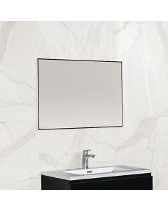 Finn aluminium omlijsting spiegel 800x600 zwart