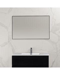 Finn aluminium omlijsting spiegel 1000x600 zwart
