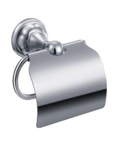 Toiletrolhouder met klep Liberty
